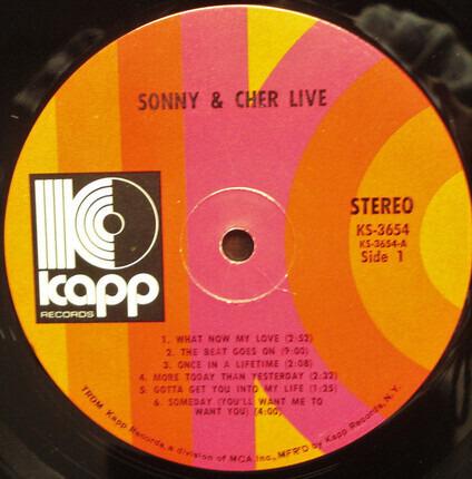 #<Artist:0x00007fcec33933b8> - Sonny & Cher Live