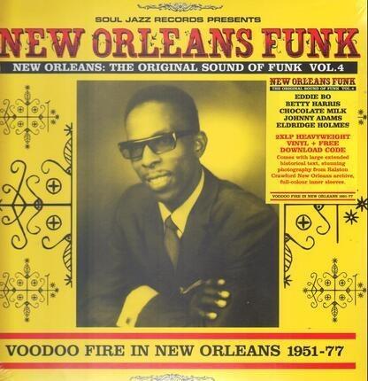 #<Artist:0x00007fb9bac8f160> - New Orleans Funk 4