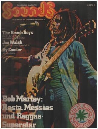 #<Artist:0x00007f86128bb948> - 10/75 - Bob Marley