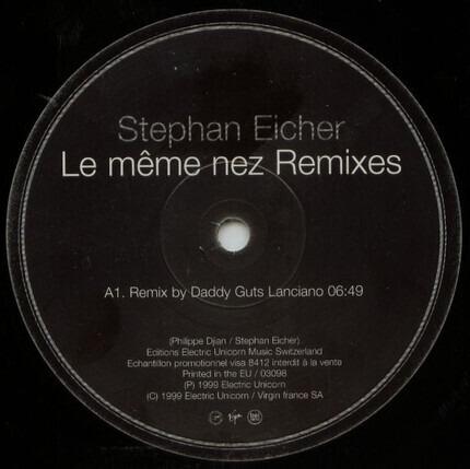 #<Artist:0x00007fe6e56b4800> - Le Même Nez (Remixes)