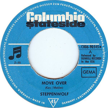 #<Artist:0x00007fcec30a9dc8> - Move Over / Power Play