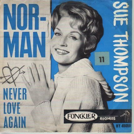 #<Artist:0x00007f38a238fb30> - Norman / Never Love Again