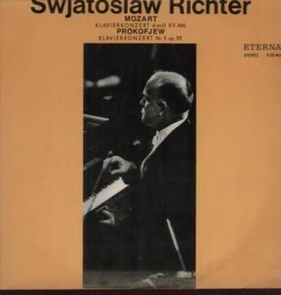 #<Artist:0x00007f412d89b028> - Swajatoslaw Richter  - Mozart Klavierkonzert d-moll KV 466