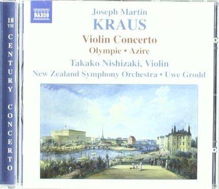 #<Artist:0x00007f4c7c6d6878> - Kraus: Violinkonzert/Olympie/Azire