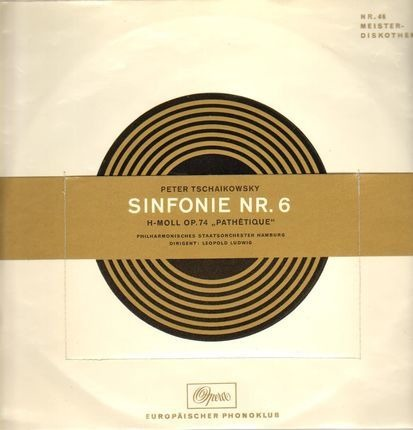 #<Artist:0x00007f1b89e2c6f0> - Sinfonie Nr. 6 H-Moll Op. 74 - 'Pathétique'