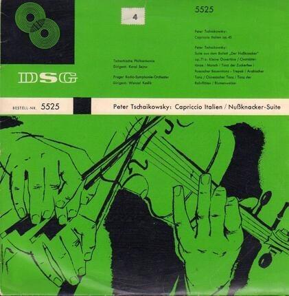 #<Artist:0x00007f1037b3be08> - Capriccio Italien Op. 45, Suite Aus Dem Balett 'Der Nußknacker' Op. 71a