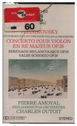 #<Artist:0x00007f740e9118b8> - Concerto En Ré / Valse / Scherzo / Sérénade Mélancolique