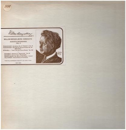 #<Artist:0x00007f73ec34ae38> - Willem Mengelberg Conducts - Acoustic Recordings Vol. II
