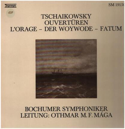 #<Artist:0x00007f73f21d8248> - Ouvertüren: L'Orage / Der Woywode / Fatum