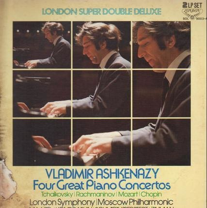 #<Artist:0x00007fce0847b368> - Four Great Piano Concertos