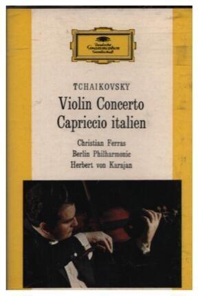 #<Artist:0x00007fcee2421798> - Violin Concerto / Capriccio Italien