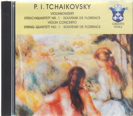 """#<Artist:0x00007fcee1c93df0> - Violin Concerto No 1 """"Souvenir de Florence"""""""