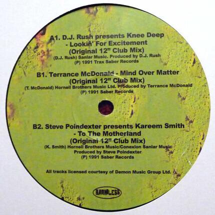 "#<Artist:0x00007fa22a202fc8> - Acid Thunder (More Definitive Original Acid & Deep House 1985-1991) (12"" Sampler 1)"