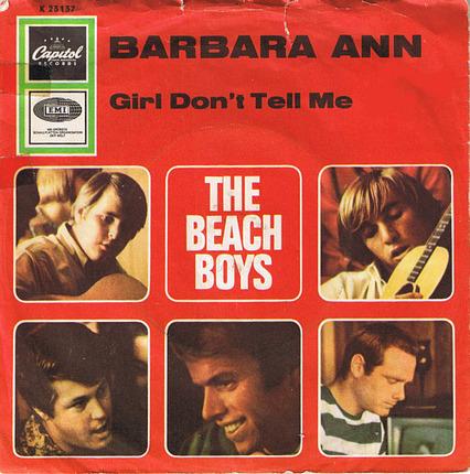 #<Artist:0x00007f410f3ae380> - Barbara Ann / Girl Don't Tell Me