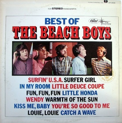 #<Artist:0x00007f47b55fd6e8> - Best Of The Beach Boys