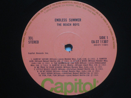 #<Artist:0x00007fcec0e90598> - Endless Summer