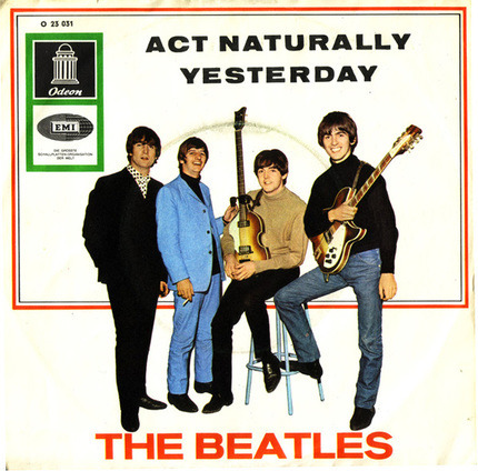 #<Artist:0x0000000006de3108> - Act Naturally / Yesterday