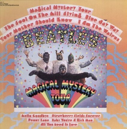 #<Artist:0x00007f4104bd6108> - Magical Mystery Tour