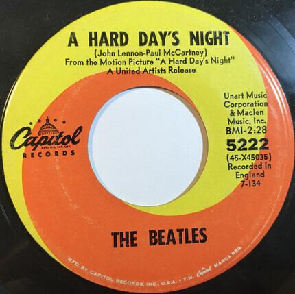 #<Artist:0x00007f740e8a90d8> - A Hard Day's Night