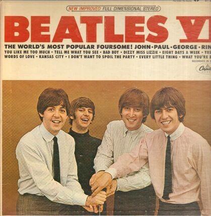 #<Artist:0x00007fae099fe2f0> - Beatles VI