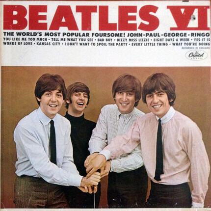 #<Artist:0x00007fb54147f6a0> - Beatles VI
