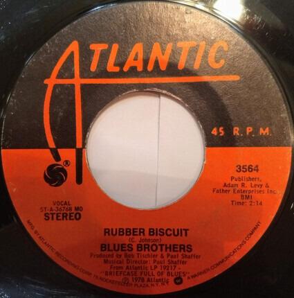 #<Artist:0x00007f2edfc75618> - Rubber Biscuit / 'B' Movie Box Car Blues