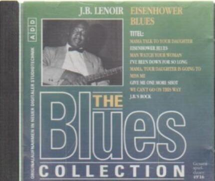 #<Artist:0x0000000006fe2170> - 34: J.B. Lenoir - Eisenhower Blues