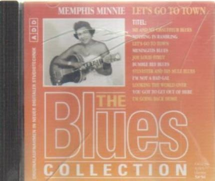 #<Artist:0x00007f920152f4c8> - 54: Memphis Minnie - Let's Go To Town