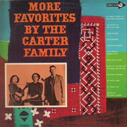 #<Artist:0x00007f651478c0a0> - More Favorites by the Carter Family