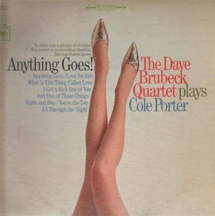 #<Artist:0x00007fcee3cf3488> - Anything Goes! The Dave Brubeck Quartet Plays Cole Porter