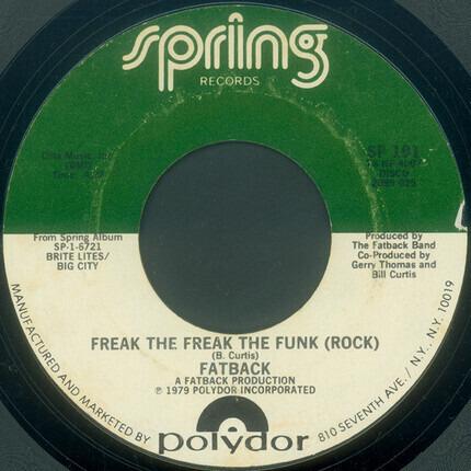 #<Artist:0x00007fcec1305e20> - Freak The Freak The Funk (Rock)