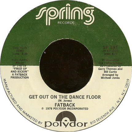 #<Artist:0x00007fcee190b458> - Get Out On The Dance Floor / I Like Girls