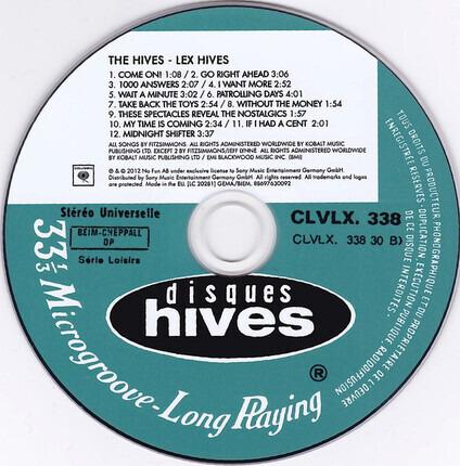 #<Artist:0x00007f412ff0cb30> - Lex Hives