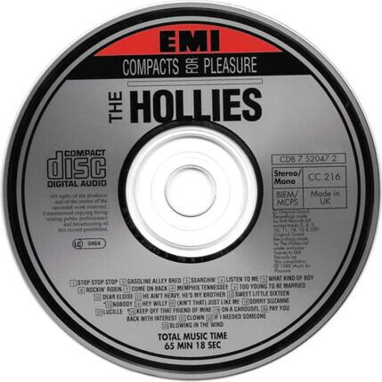#<Artist:0x00007fcec36d7100> - The Hollies