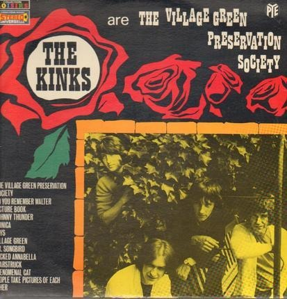 #<Artist:0x00007f451989ddd8> - The Kinks Are The Village Green Preservation Society