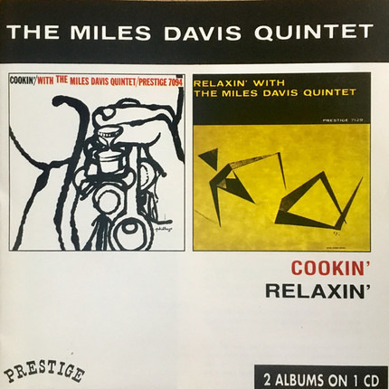 #<Artist:0x00000000085f13a8> - Cookin' With The Miles Davis Quintet / Relaxin' With The Miles Davis Quintet
