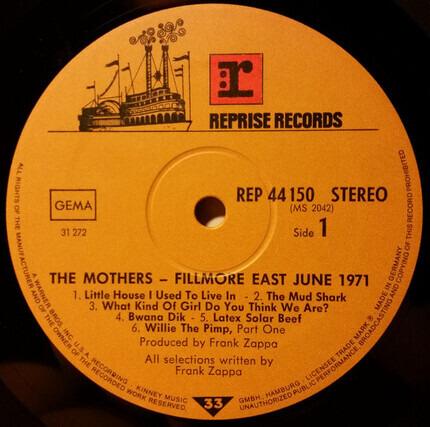 #<Artist:0x00007fc6e531cd98> - Fillmore East - June 1971