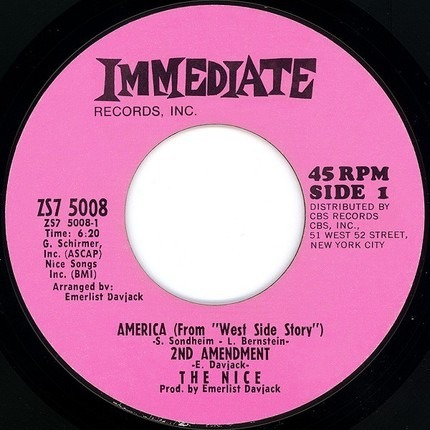 #<Artist:0x0000000006a11430> - America (From 'West Side Story') 2nd Amendment