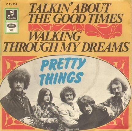 #<Artist:0x00007fd14c1f8248> - Talkin' About The Good Times / Walking Through My Dreams
