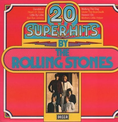 #<Artist:0x00007f38c37c8398> - 20 Super Hits By The Rolling Stones