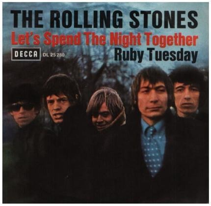 #<Artist:0x00007f5532948908> - Let's Spend The Night Together / Ruby Tuesday
