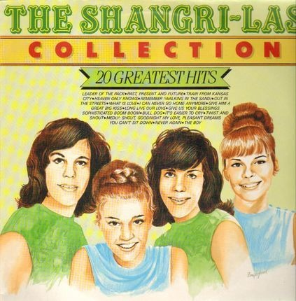 #<Artist:0x00007fcee1ef7678> - The Shangri-Las Collection (20 Greatest Hits)