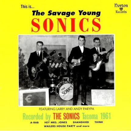 #<Artist:0x00007fd79b8f82f0> - The Savage Young Sonics