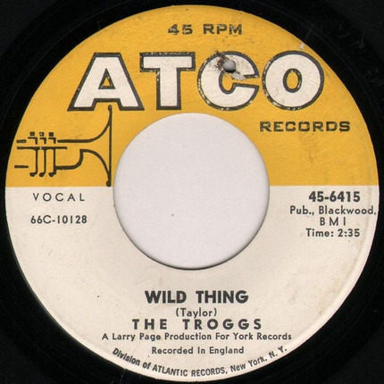 #<Artist:0x00007fcec2541d50> - Wild Thing / With A Girl Like You