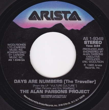 #<Artist:0x00000000053a0db8> - Days Are Numbers (The Traveller)