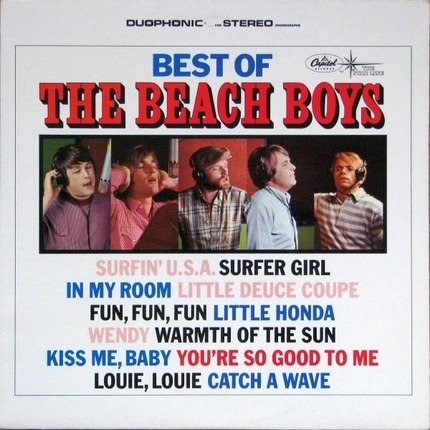 #<Artist:0x00007f1ac8460b38> - Best Of The Beach Boys