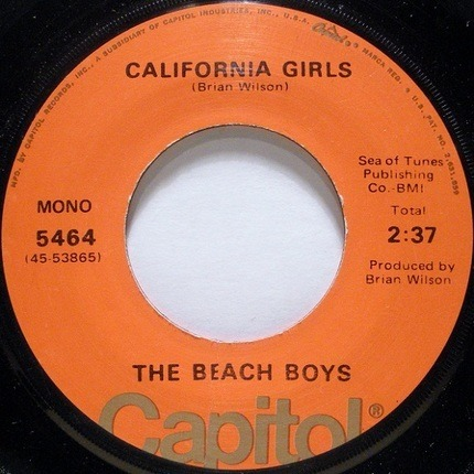 #<Artist:0x00007f7e1c9bb0f8> - California Girls / Let Him Run Wild