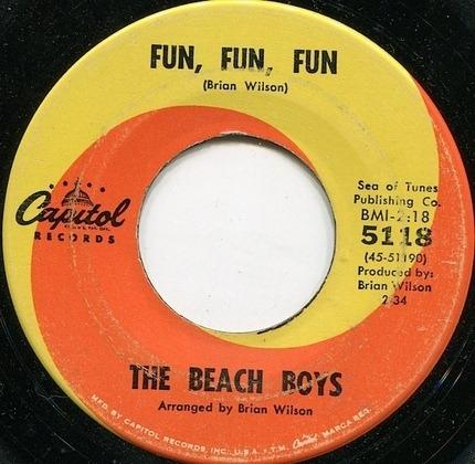 #<Artist:0x00007f4a8c7a1bc8> - Why Do Fools Fall In Love / Fun, Fun, Fun