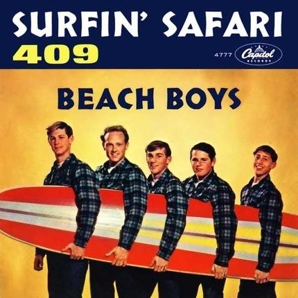 #<Artist:0x00007f7dfe034a48> - Surfin' Safari / 409