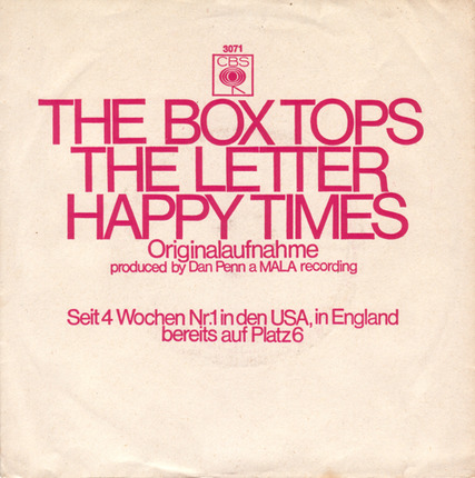 #<Artist:0x0000000005a439b8> - The Letter / Happy Times